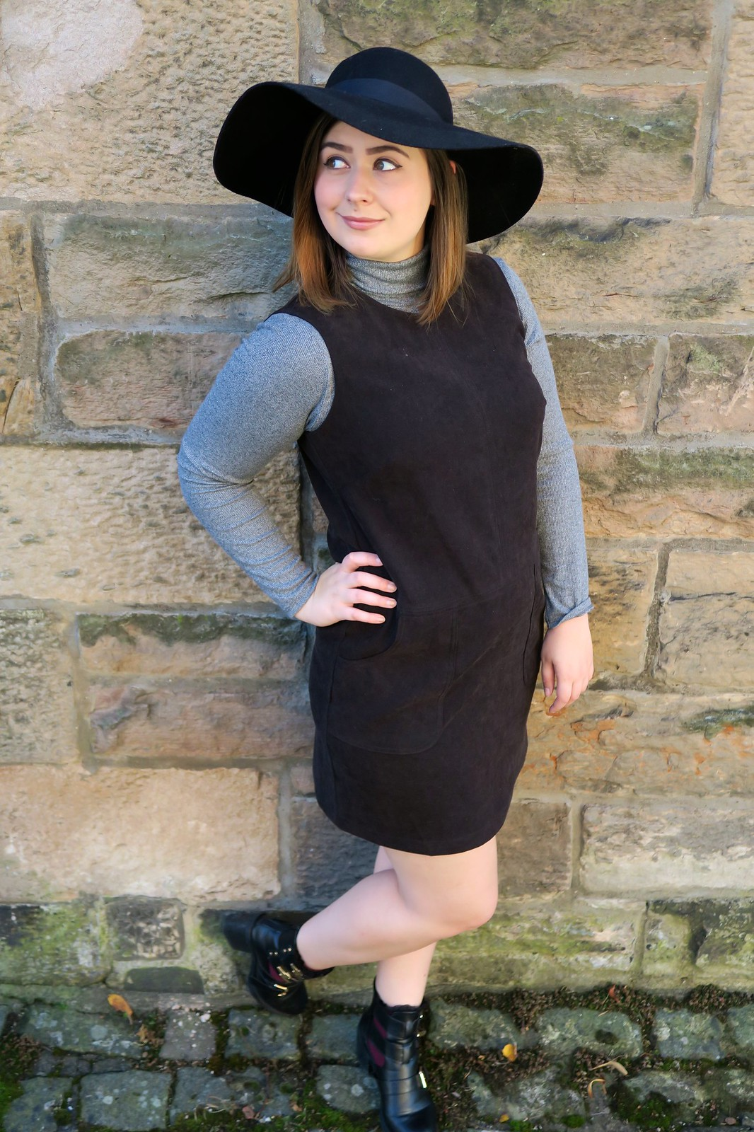 fashion lifestyle blogger George Asda styleYOUniform suede dress autumn winter fashion