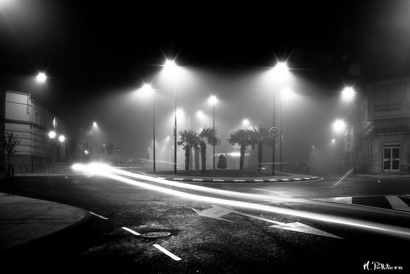 Santa Maria del Páramo: Noche de Niebla - El Cruce II