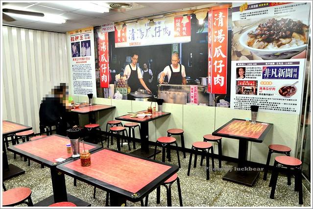 華西街美食老店小王清湯瓜仔肉008-DSC_5341