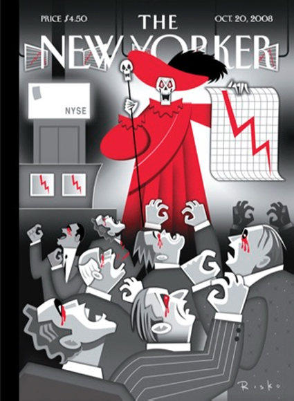 15k29 Red Death on Wall Street by Robert Risko, The New Yorker October 20,2008 copy