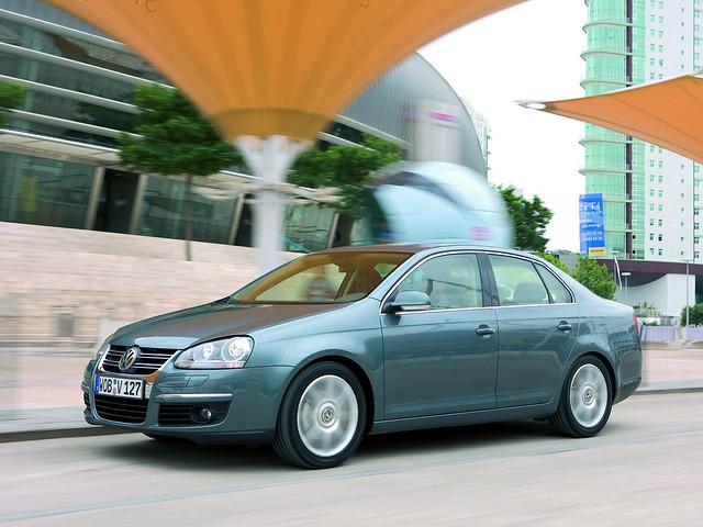 Седан Volkswagen Jetta (Typ 1K). 2005 – 2010 годы