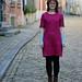 Linden Sweatshirt Dress in Liberty Fleece
