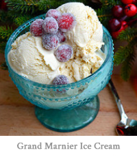 Brown Sugar & Grand Marnier Ice Cream