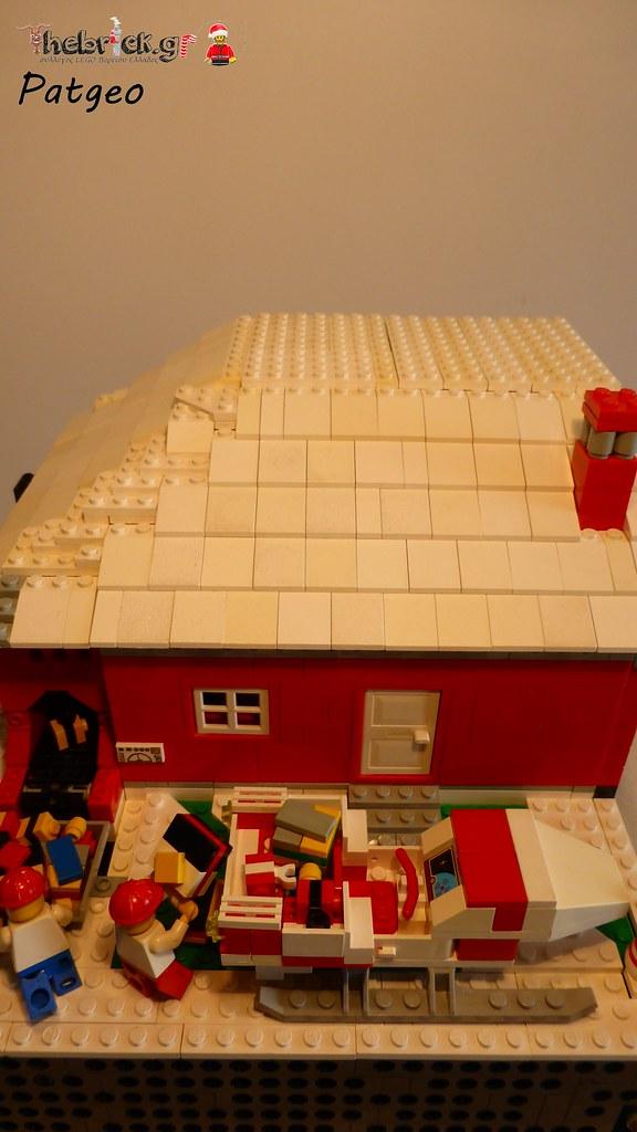 """[BuildtheBrick #2]: """"Santa's Workshop"""" 23524738152_955808c694_b"""