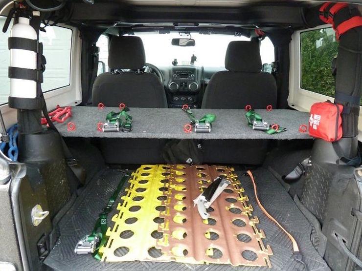 Jeep DIY storage mod2