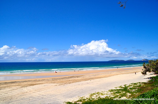 View of Rainbow Beach QLD Australia