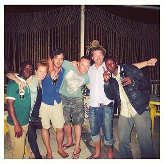 Dancing with the locals in Ruhengheri