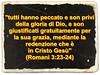 La redenzione è solo in Gesù Cristo