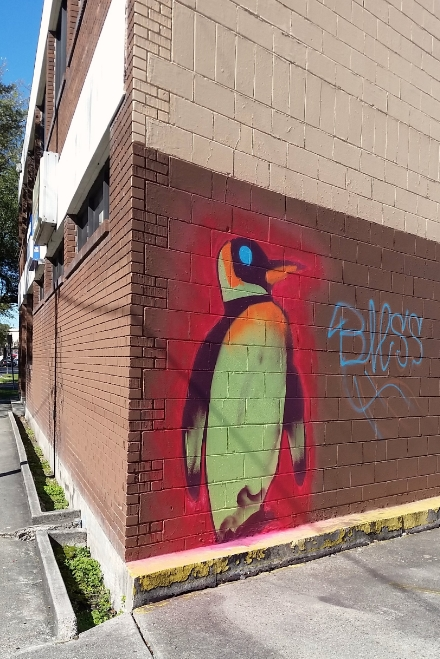 Day-Glo Penguin
