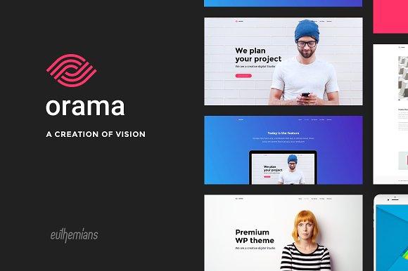 Orama v1.0 - A Premium WordPress Theme