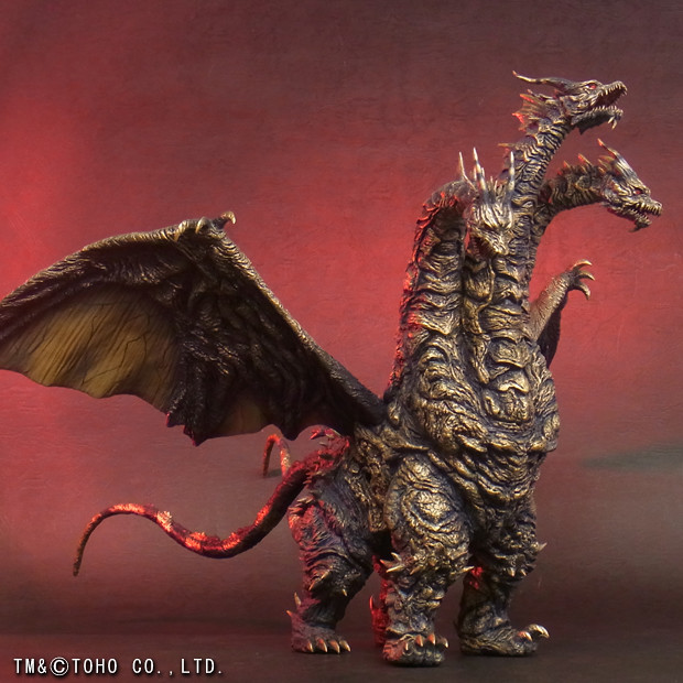 X-PLUS 東寶大怪獸系列 《哥吉拉 最後戰役》凱薩基多拉 カイザーギドラ  普通版/少年RIC限定版