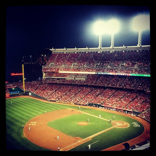 #Reds game number 35 of the season with @genmae5. #GABP #InstaReds