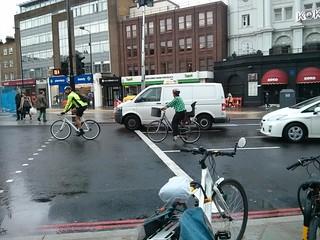 Crowndale@CHS cyclists