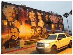 ?Luminaries of Pantheism? mural by Levi Ponce.