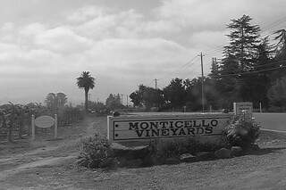 Monticello Vineyards - Sign by roland luistro, on Flickr