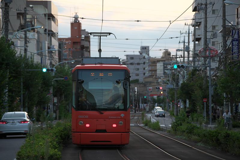Tokyo Train Story 都電荒川線 2015年9月20日