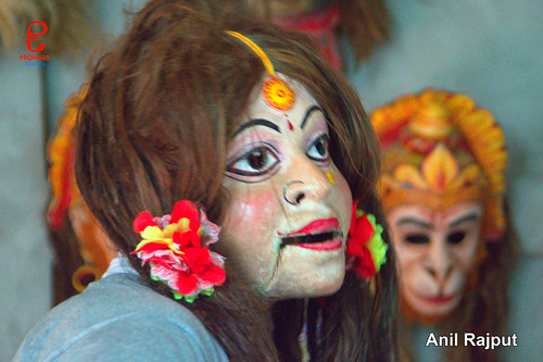Lotokai Mukha, Mohini Roop of Taarka from epic Ramayana
