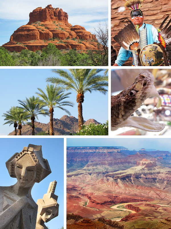 Arizona Travel Collage