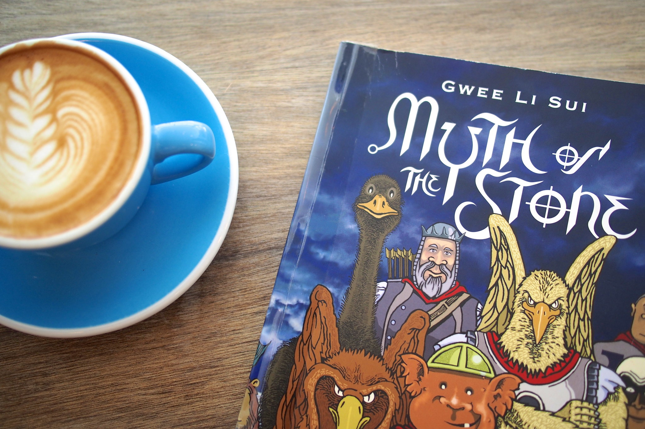 Five by Five Flat White x Gwee Li Sui's Myth of the Stone
