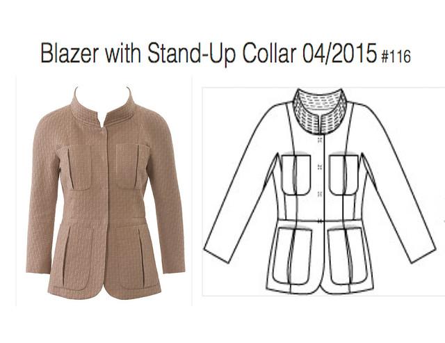 Burda Jacket Idea