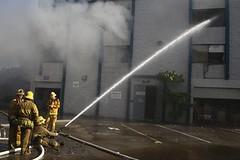 LAFD Battles Playa Vista Office Building Blaze