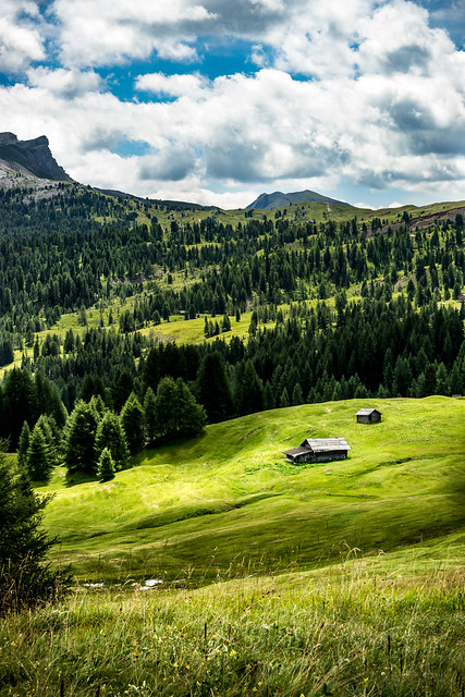 The house - Alta Badia, Italy - Travel, landscape photography