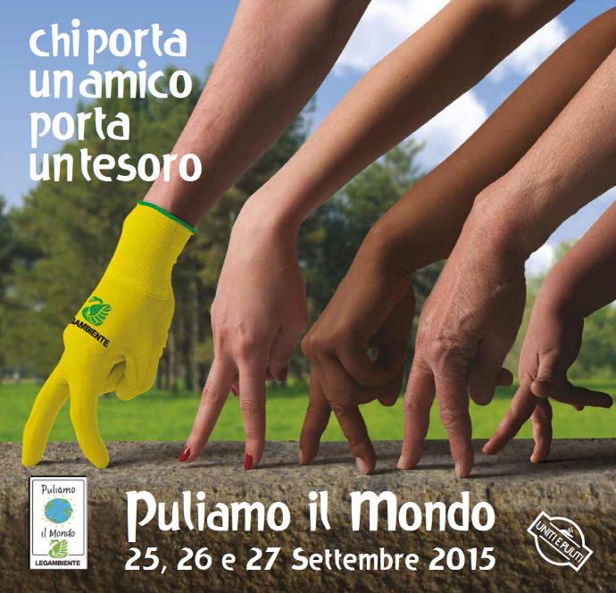 Castel Bolognese aderisce a Puliamo il mondo edizione 2015, il 25-26-27 settembre