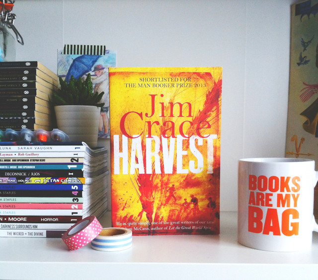 vivatramp harvest jim crace book haul lifestyle blog book blog