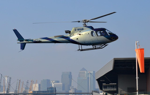 G-WHAM AS350 (3) @ Excel London 03-10-15