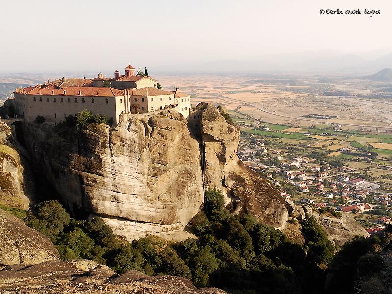 Vista del convento Agios Stéfano