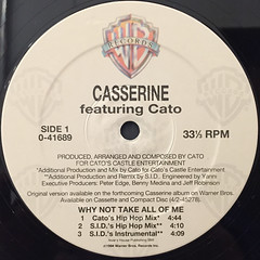 CASSERINE:WHY NOT TAKE ALL OF ME(LABEL SIDE-A)
