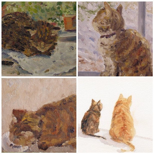 Paintings of Mollie
