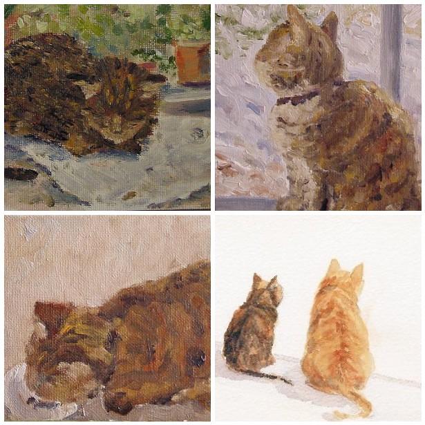 Paintings of Mollie