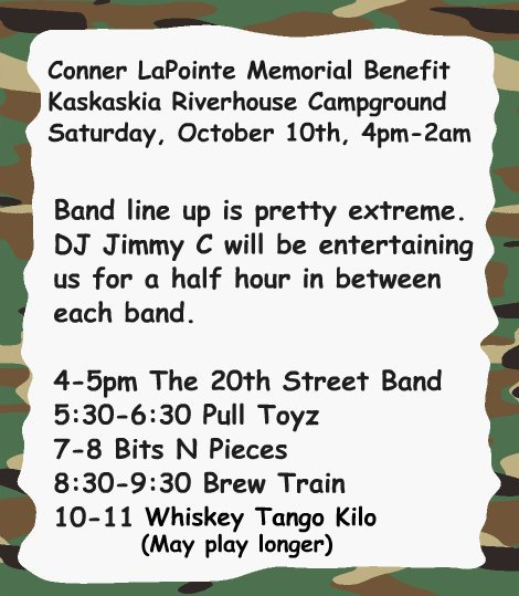 Conner Benefit Music