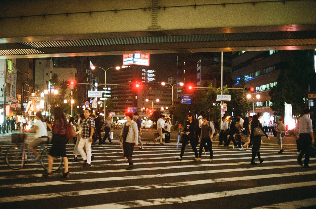 南海難波 大阪 Osaka 2015/09/09 南海難波  Nikon FM2 Nikon AI Nikkor 50mm f/1.4S Kodak UltraMax ISO400 Photo by Toomore