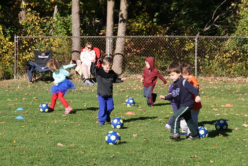 Soccer Woddlers- Fall 2015