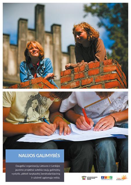 """Wystawa """"Przyjaźń, edukacja, wspólna historia"""" Polsko-Litewskiego Funduszu Wymiany Młodzieży"""