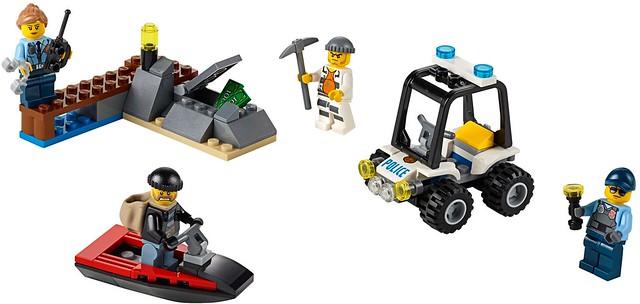 LEGO City 2016: 60127 - Prison Island Starter Set
