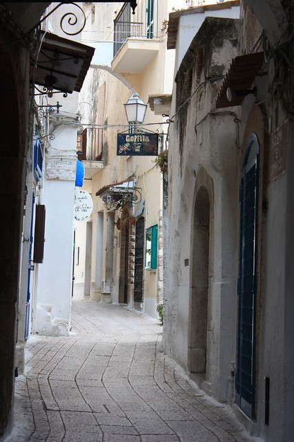 Sperlonga Italy: whitewashed alleys
