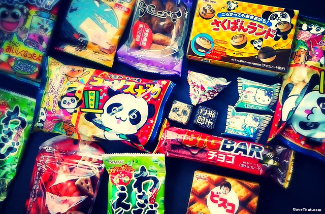 Authentic Japanese Snacks