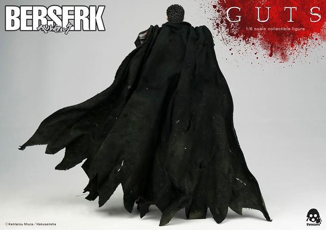 threezero 烙印勇士【黑衣劍士:凱茲】Berserk Guts 1/6 比例人偶作品