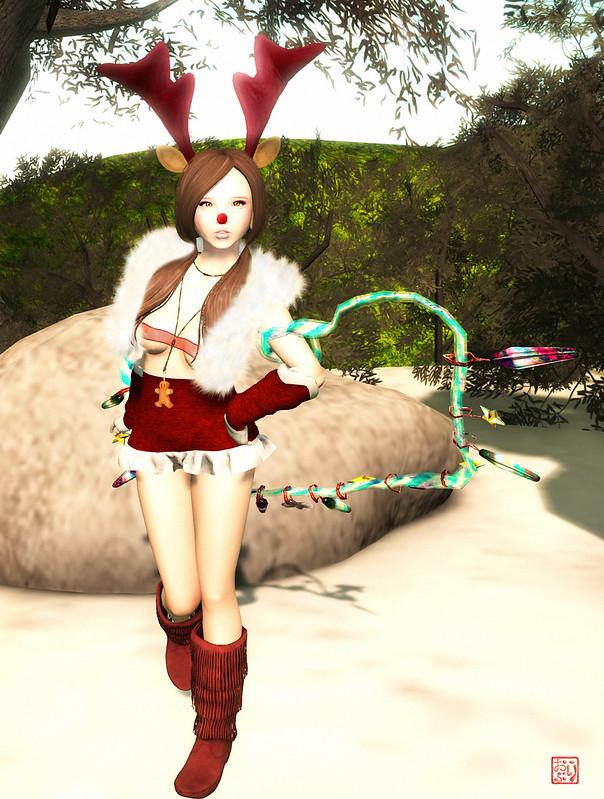 Sexy Reindeer Gift