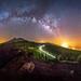 Vía láctea sobre el Parque Nacional del Teide [Explore] by Javier Martínez Morán