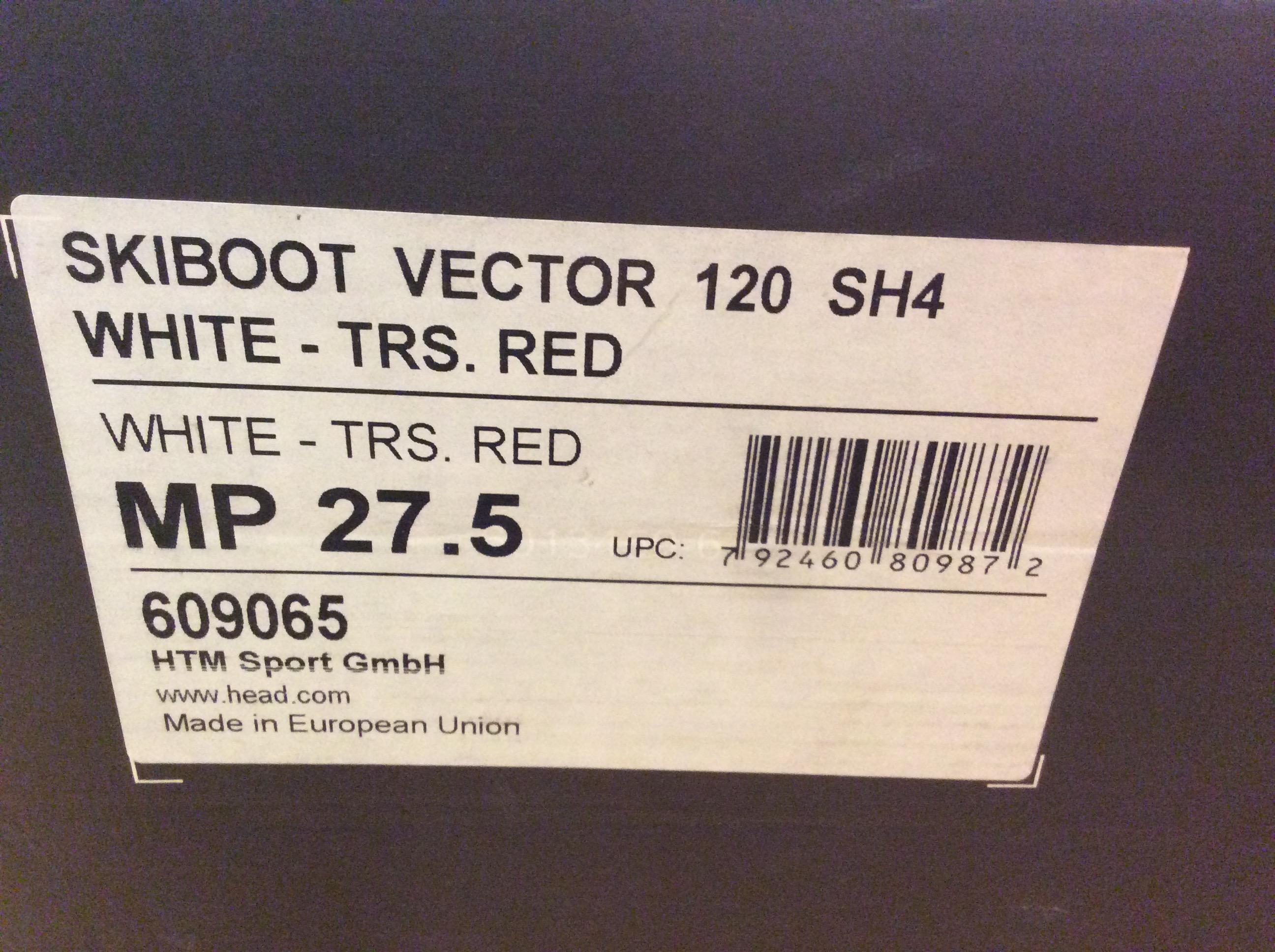 ... Lyžařské boty Head Vector 120 SH4 nové vel. 779c067749