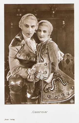 Iwan Mosjukin and Jenny Jugo in Casanova (1927)