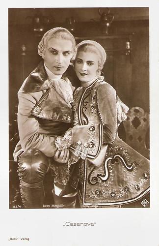 Iwan Mosjukin and Jenny Jugo in Casanova (1927)
