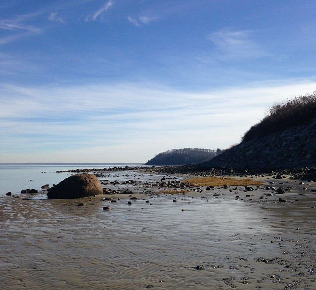 The beach in December