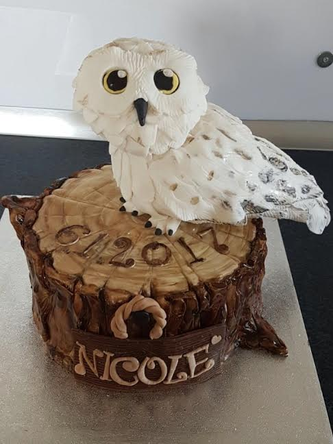 Verena Spanier - Harry Potters Owl Hedwig by Verena Spanier