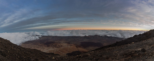 natur panorama tech sunset travel nature volcano teneriffa bluehour goldenhour clouds mountains mountaintop hiking spain night ultrawideangle lava