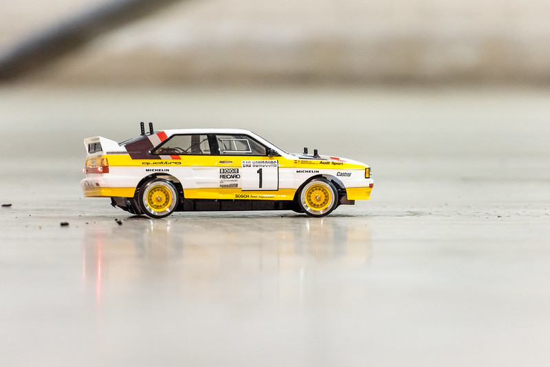 Arthur's Audi Quattro.